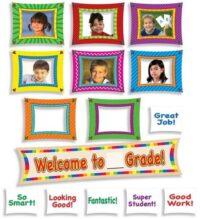 Атрибуты для награждения и мотивации Welcome to ____ Grade! Mini Bulletin Board