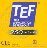 Аудио диск TEF 250 Activités CD audio