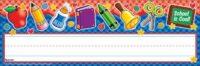 Именные таблички School Tools Gingham! Name Plates