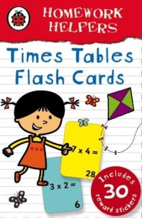 Карточки Ladybird Homework Helpers: Times Tables Flash Сards