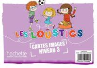 Карточки Les Loustics 3 Cartes images en couleurs