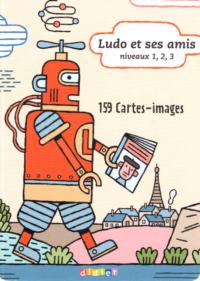 Карточки Ludo et ses amis niveaux 1, 2, 3 - 159 Cartes-images