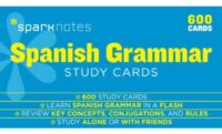 Карточки Spanish Grammar Study Cards