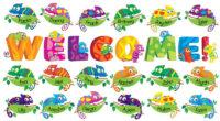Карточки Welcome! Bulletin Board