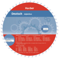 Картонный круг Wheel: Adjektive