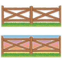 Кайма для стен Wild West Fence Jumbo Borders