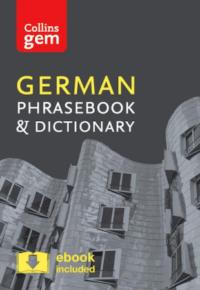 Книга Collins Gem German Phrasebook and Dictionary