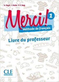 Книга для учителя Merci! 1 Livre du professeur