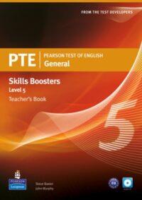 Книга для учителя PTE General Skills Booster 5 Teacher's Book with CD