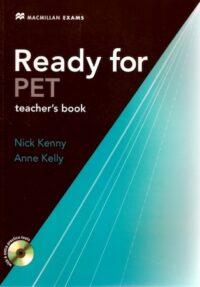 Книга для учителя Ready for PET Teacher's Book with CD-ROM