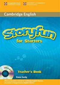 Книга для учителя Storyfun for Starters Teacher's Book with Audio CD