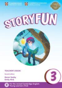 Книга для учителя Storyfun Second Edition 3 (Movers) Teacher's Book with Downloadable Audio