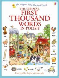 Книга First Thousand Words in Polish