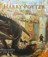 Книга Harry Potter and the Goblet of Fire (Illustrated Edition)