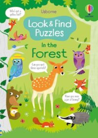 Книга Look and Find Puzzles: In the Forest