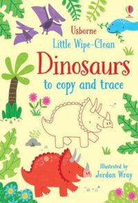 Книга пиши-стирай Little Wipe-Clean Dinosaurs to Copy and Trace