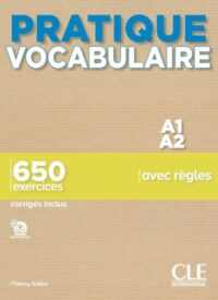 Книга Pratique Vocabulaire A1-A2