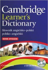 Книга с диском Cambridge Learner's Dictionary English–Polish Second Edition with CD-ROM