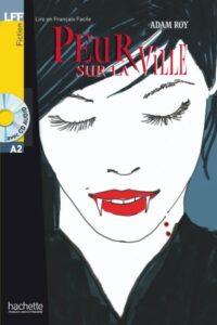 Книга с диском Peur sur la Ville avec CD audio