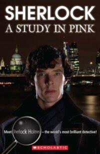Книга с диском Sherlock: A Study in Pink with Audio CD