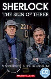 Книга с диском Sherlock: The Sign of Three with Audio CD