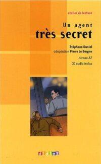 Книга с диском Un agent très secret avec CD audio