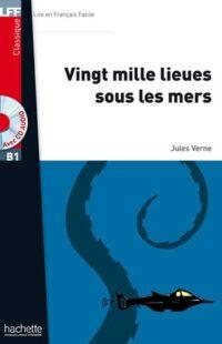 Книга с диском Vingt mille lieues sous les mers avec CD audio