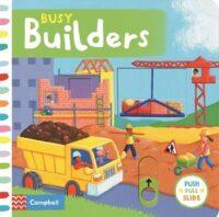 Книга с движущимися элементами Busy Builders