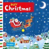 Книга с движущимися элементами Busy Christmas