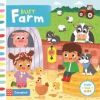 Книга с движущимися элементами Busy Farm