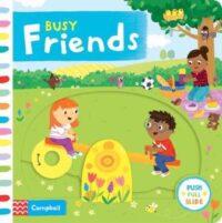 Книга с движущимися элементами Busy Friends