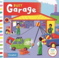 Книга с движущимися элементами Busy Garage