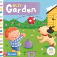 Книга с движущимися элементами Busy Garden