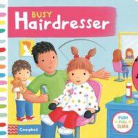 Книга с движущимися элементами Busy Hairdresser