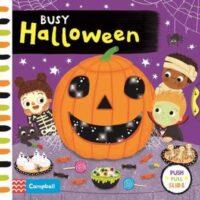 Книга с движущимися элементами Busy Halloween
