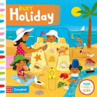 Книга с движущимися элементами Busy Holiday