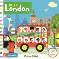 Книга с движущимися элементами Busy London