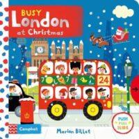 Книга с движущимися элементами Busy London at Christmas