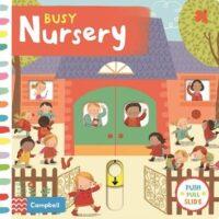 Книга с движущимися элементами Busy Nursery