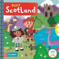 Книга с движущимися элементами Busy Scotland