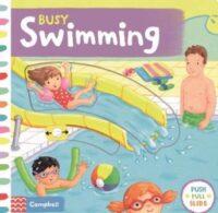 Книга с движущимися элементами Busy Swimming