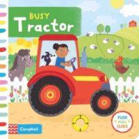 Книга с движущимися элементами Busy Tractor