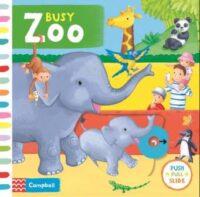 Книга с движущимися элементами Busy Zoo