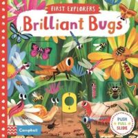 Книга с движущимися элементами First Explorers: Brilliant Bugs