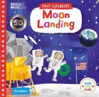 Книга с движущимися элементами First Explorers- Moon Landing
