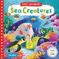 Книга с движущимися элементами First Explorers: Sea Creatures