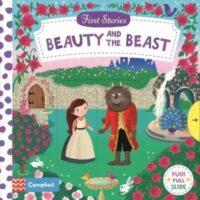 Книга с движущимися элементами First Stories: Beauty and the Beast