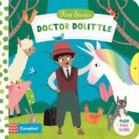 Книга с движущимися элементами First Stories: Doctor Dolittle