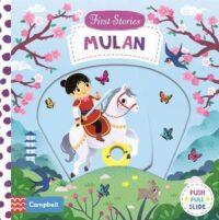 Книга с движущимися элементами First Stories: Mulan
