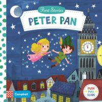 Книга с движущимися элементами First Stories: Peter Pan